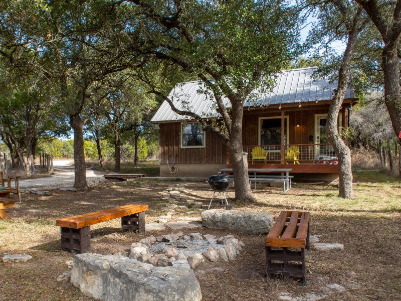 Ranch 3232 offers Hill Country cabin rentals, campsites, RV sites, and glamping tents near Pedernales Falls State Park.